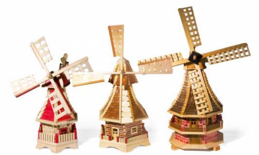 "Windmühle ""Holland"" aus Holz"
