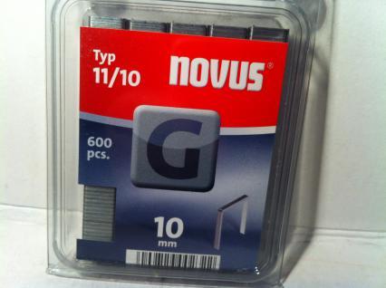 Tackerklammern Typ 11 /140 10mm 600 Stück von Novus