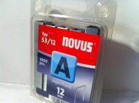 Tackerklammern Typ 53/530 12mm 1000 Stück von NOVUS