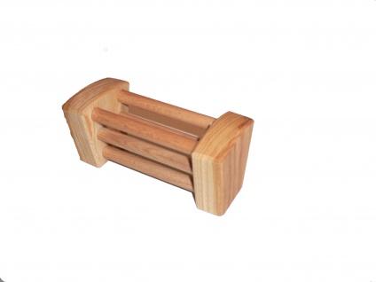 Heuraufe aus Holz für Spielzeugbauernhof - Vorschau 2