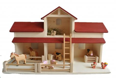 Holzbauernhof Stall