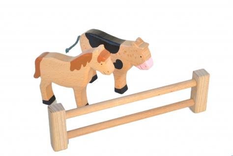 Holz-Zaun für Spielzeugbauernhof