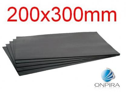 5x 0, 5mm Magnetbogen Magnetplatte Magnetfolie Magnettafel Magnetschild Magnet - Vorschau