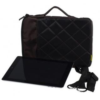 "Edle 10"" iPad Air 2 Tasche braun Bumper Case Cover Schutz Hülle Tablet Notebook"