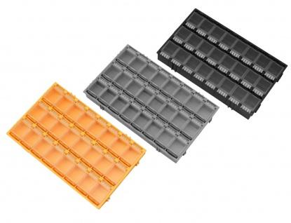 24er SMD Container Mäuseklo aneinandersteckbar Sortiment Box SMT 0603 0805 1206 - Vorschau 2