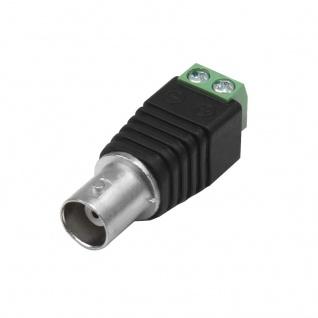 10x BNC Kupplung Adapter Schraubklemme Video Kamera Überwachungskamera Stecker