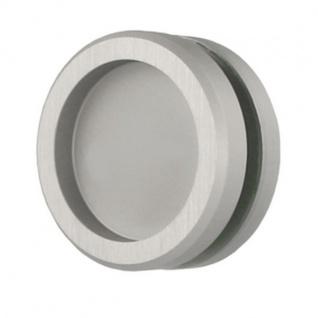 MLS Griffmuschel Griffmulde Aluminium Edelstahloptik matt MG11 0160-0080