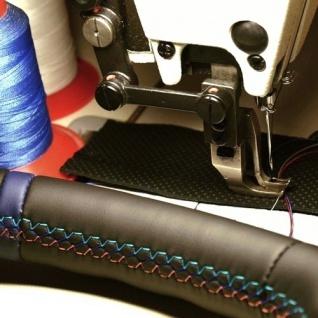 """Wir beziehen Ihr Lenkrad neu mit Leder - Version """" Color Rallye Premium"""""""