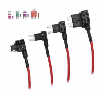Mini KFZ Stromabgreifer Stromabzweiger Stromdieb Sicherung Verteiler ATM APM - Vorschau 3