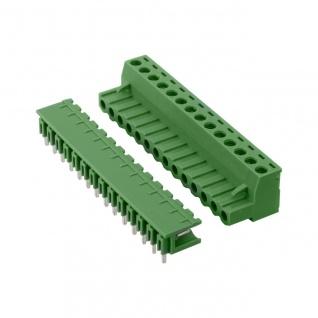 10x Anschlussklemmen Schraubklemmen Printklemmen Leiterplattenklemme RM 5, 08