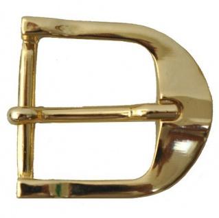 """Gürtelschnalle """" Gold"""" Gürtelschließe Zierschnalle für 25mm Gürtel Buckle"""