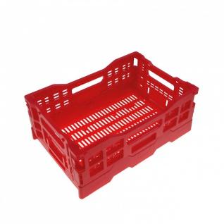 5x | 10x | 20x Mini Stapelbox Klappbox Sortimentsbox Aufbewahrungsbox verschi...