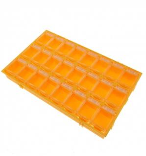 24er SMD Container Mäuseklo aneinandersteckbar Sortiment Box SMT 0603 0805 1206 - Vorschau 4
