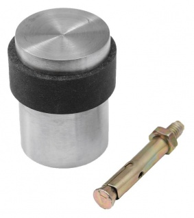 Edelstahl Türstopper für Betonboden Bodentürstopper Bodentürpuffer Puffer