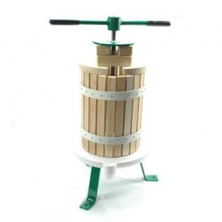 Obstpresse Beerenpresse Weinpresse Saftpresse 6 Liter Saft Most Wein 6HS