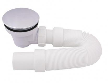 Ø 115mm Duschablauf incl. Siphon Ablaufgarnitur Ablauf Bodenablauf Abfluss Sifon