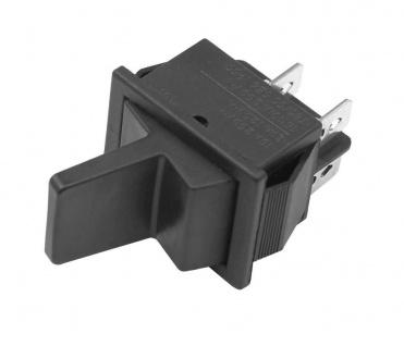 Wipptaster Ein- / Aus - Funktion 230V 2x EIN nicht einrastend (6V 9V 12V 24V)