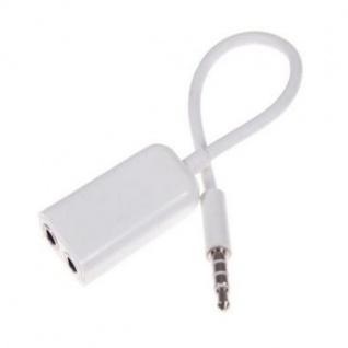 3, 5-mm Klinke auf 2x Kupplung Verteiler Y-Kabel Stereo Adapter