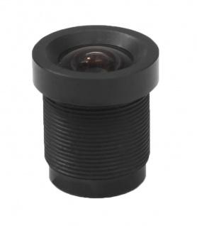Echtglas Mini Objektiv für Überwachungskamera Minikameras Weitwinkel, Zoom