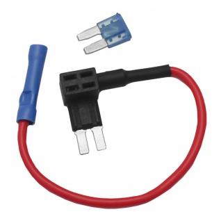 Mini KFZ Stromabgreifer Stromabzweiger Stromdieb Sicherung Verteiler ATM APM - Vorschau 2