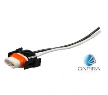 2x Lampensockel aus Keramik für H8 incl. Kabel Sockel Socket Fassung Universal