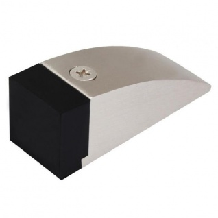 Exklusiver Türstopper Edelstahl-Optik Bodentürstopper Bodentürpuffer Puffer