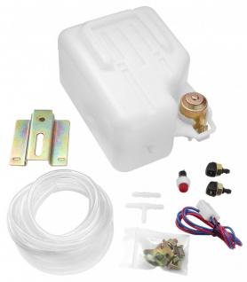 Scheiben Waschanlage Scheibenwaschbehälter Wasser Tank Pumpe Set 1, 5L