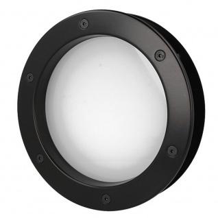 MLS Bullauge B4000 A8 Rundfenster Aluminium schwarz matt Ø 30 cm Glas matt 01... - Vorschau 5