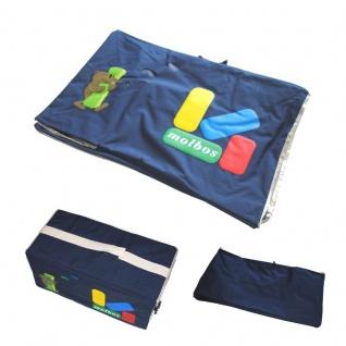Tasche Aufbewahrung 60 x 30 x 30 cm Strand Garten Spielzeug Wäsche Stapelbox