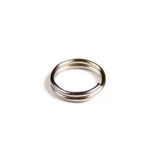 1000 Schlüsselringe Außen Ø 8mm / Innen Ø 6, 5mm Gehärteter Stahl Schlüsselring 100