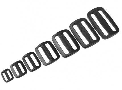 20x Schieber, Stopper, Gleiter, Versteller, Regulator für Gurtband M005-25