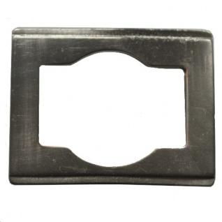 Gürtel Schnalle Schließe silber für 35 mm Gürtel Buckle Ledergurt (3)