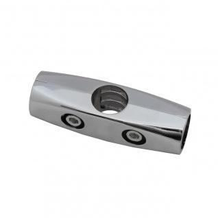 25mm Chrom Rohrverbinder Relingverbinder Reling Beschlag Stangen Verbindung 2-01