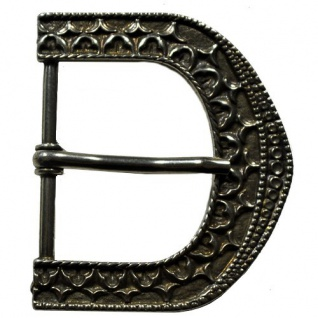 Gürtel Schnalle Schließe silber für 40 mm Gürtel Buckle Ledergurt Gotik (5)