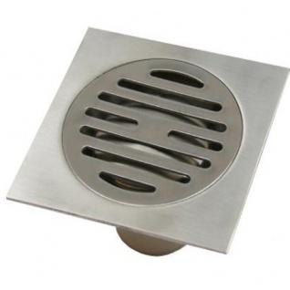 Edelstahl Bodenablauf Duschablauf Duschrinne DN40 Geruchsverschluss Mod. OA-27