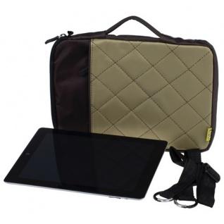 "Edle 10"" iPad Air 2 Tasche beige Bumper Case Cover Schutz Hülle Tablet Notebook"