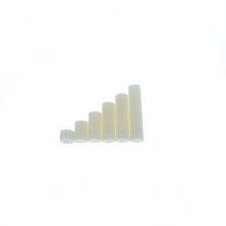 100 Abstandshalter M3 Distanzhülsen Distanz-Hülsen Kunststoff Nylon Distanzhülse - Vorschau 4