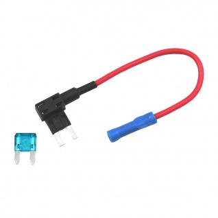 Mini KFZ Stromabgreifer Stromabzweiger Stromdieb Sicherung Verteiler ATM APM