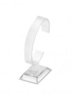 10x Acryl Uhrenständer Transparent Uhrenaufsteller Uhrenhalter