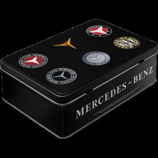 Vorratsdose Flach Mercedes-Benz Logo Evolution