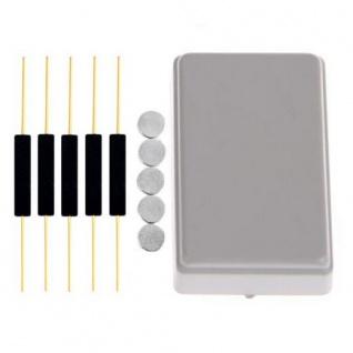5x Reedkontakte 15x3 mm + 5x Neodym-Magnet Ø 5x1mm (Magnetkontakt, Reed-Kontakt)