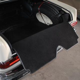 Mercedes W111 Seb Sec Coupe Kofferraummatte Velours schwarz Keder Stoff