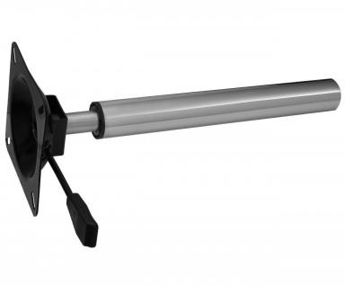 Teleskop Tischfuß Tischgestell Gasfeder Höhenverstellbar verstellbar Bastler