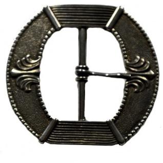 Gürtel Schnalle Schließe silber für 40 mm Gürtel Buckle Ledergurt Gotik (7)