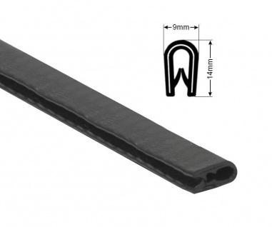 Kantenschutzprofil 9x14mm Kantenschutz Schutzprofil 1-4 mm Blech metallverstärkt - Vorschau 3