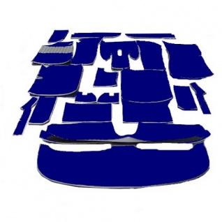 BMW E9 Coupe 2, 5CS 2800CS 3, 0CS 3, 0 Auto Teppich Velours blau Neuanfertigung