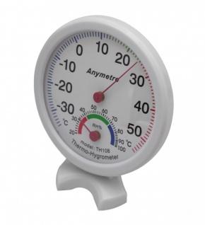 Präzisions- Hygrometer Thermometer Luftfeuchtigkeit Thermohygrometer Raum
