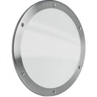 MLS Bullauge B5000 Rundfenster Edelstahl gebürstet Ø 35 cm Glas matt 0180-0192