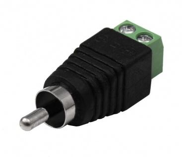 10x Cinch Chinch Kupplung Adapter Schraubklemme Audio Hifi Buchse