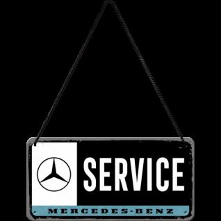 Hängeschild Mercedes Benz- Service